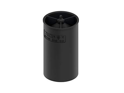 TECE 660017 drainline Membran-Geruchsverschluss (für Abläufe; Geruchs- und Ungeziefersperre; Höhe: 9,4) schwarz
