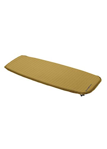 Trangoworld Micro Lite Tapis, Jaune Moutarde/Gris, Taille Unique