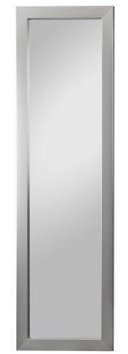 Spiegelprofi H0130231 Rahmenspiegel Ines, 38 x 128 cm, Edelstahloptik