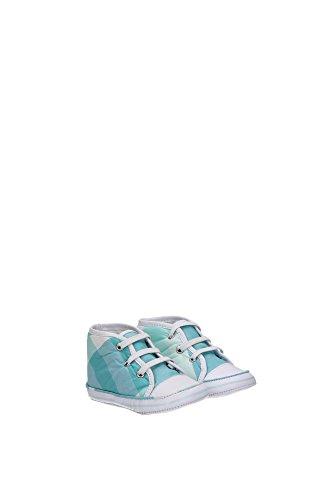 B9917576T Burberry Sneakers Garçon Tissu Céleste Céleste
