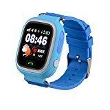 f0df396d8770 super-life GPS GSM GPRS Tracker de posicionamiento Triple reloj para niños reloj  inteligente