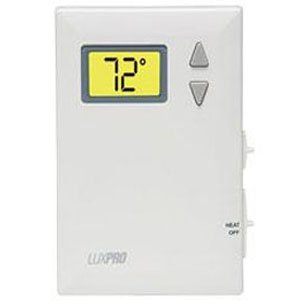Lux Digital Thermostat (Heat Only Digital Non-Programmable Thermostat by Lux)