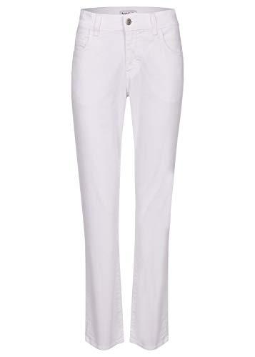 Angels Damen Jeans 'Dolly' mit gefärbtem Denim, Weiß, 46W / 28L