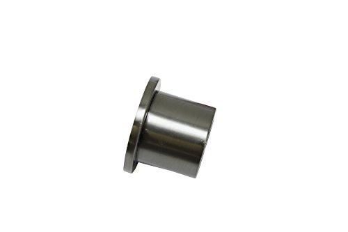 GARDINIA Wandlager für Gardinenstangen mit Durchmesser 20 mm, Inklusive Befestigungsmaterial, Wandmontage, Metall, Titan