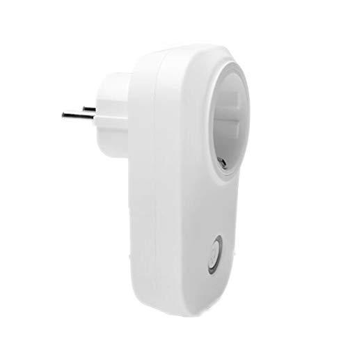 WiFi-Smart-Steckdose, kompatibel mit Alexa und Google Home Sprachsteuerung Timer-Schalter-Steckdose, steuern Sie Ihr Gerät jederzeit (europäischer Standard)