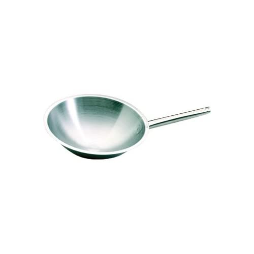 Bourgeat Pots and Pans P481 Bourgeat Tradition Plus Wok, 350 mm, 8 L, Small