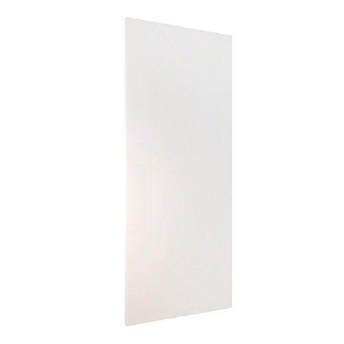 Homcom® Holzschiebetür Schiebetür Tür Zimmertür Schiebesystem Holz 2035x880x40mm (weiß)