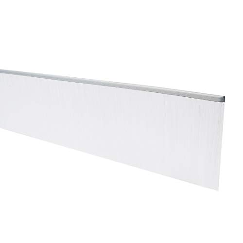40-Zoll x 3,2-Zoll Türboden Fegen Nylon Pinsel Einsatz Siegel weiß DE -