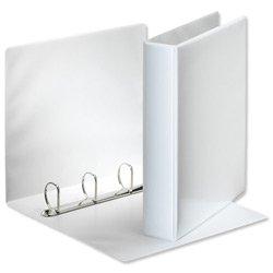 Esselte D-Ring 4 Präsentationsringbuch Polypropylen 40 mm A4 weiß Ref 600530/49704 [Pack 10]
