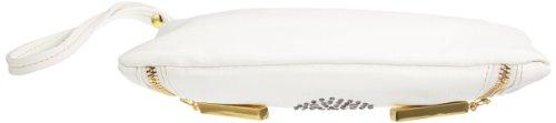 Friis & Company Plimadolia Skull Wallet 1320288, Borsa messenger donna 25x16x2 cm (L x A x P), Bianco (Weiß (White)), 25x16x2 cm (L x A x P) Bianco (Weiß (White))
