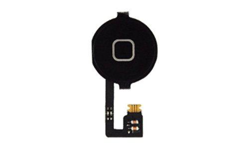 Home Button + Homebutton Flex kabel für iPhone 4 4G bl.