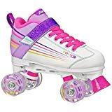 (Kids 3, white) - Pacer Comet Kids Light Up Roller Skates (Roller Skates Light Up)