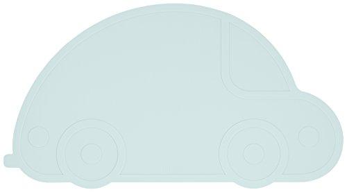 Kindsgut Platzdeckchen Auto, Tisch-Set, aquamarin -