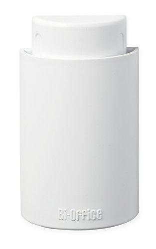 Bi-Office AA0719 Effaceur et verre 128 x 60 x 30 mm Blanc