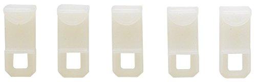ATELIERS 28 Glisseur Plastique 24 x 16 mm Vendu par 10