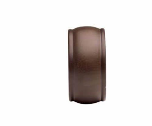 kirsch Wood tendances Classics Embout, pour 1 3/20,3 cm Tube, Acajou (# 36808083)