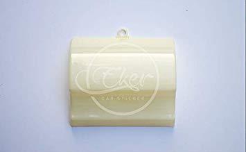 Kasavidas EK-179U 14 cm * 12 cm * 4 cm Modell Folie aus ABS-Kunststoff für Perücken aus Vinyl für Automobile Gummifarbe Haarmodelle Wasserübergang mit klebrigen Haken