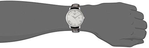 3a2acfa61f5 Tissot Men s T0636101603800 Tradition Analog Display Swiss Quartz Brown  Watch