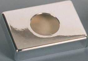 Hygienebeutelspender Halterung für Hygienebeutel Hygiene Box Chrom 140x100x27 mm