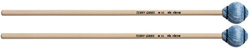 Vic Firth Signature Series - Terry Gibbs - Vibraphone and Marimba Mallets - Medium - Blue Cord - Pair - Medium Terry