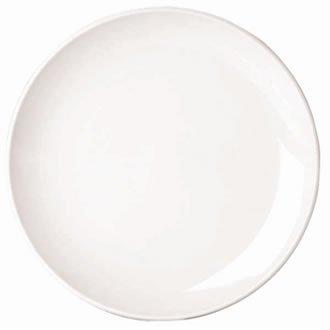 Classique White Rim Assiette plate étroite. Dimensions: 150mm (6 \