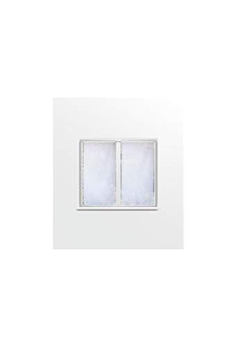 Soleil d'Ocre Paire de Brise bise, Polyester, Blanc, 120x60 cm