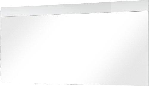 Germania 3515-84 Spiegel mit Applikation GW-Adana in Weiß, 134 x 63 x 3 cm (BxHxT)