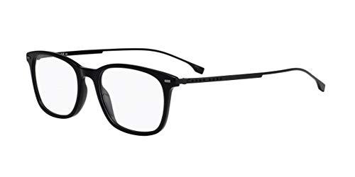BOSS Hugo Brille (BOSS-1015 807) Titan - Acetate Kunststoff glänzend schwarz - matt schwarz