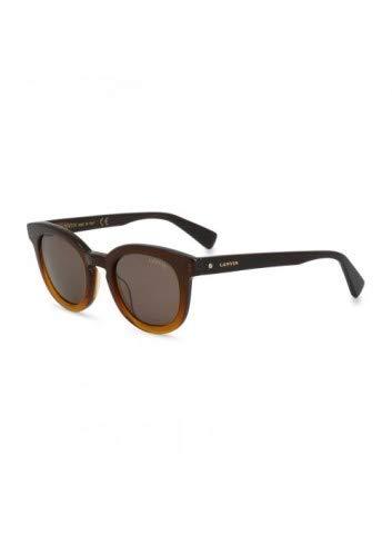Unbekannt Damen Lanvin Sonnenbrille in Braun Model: SLN722M