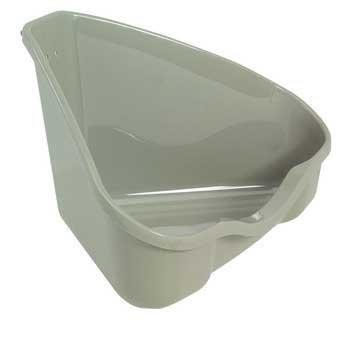 Marchioro Usa SMO34697 Nora 2-Corner Litter Pan for Small Animals