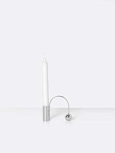 Ferm Living - Balance Kerzenhalter Chrom
