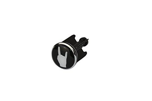 Preisvergleich Produktbild Original 1PLUS Pommesgabel Rock-Hand Metal-Hand Devil's Horns Hand Waschbeckenstöpsel Exzenterstopfen für alle handelsüblichen Waschbecken