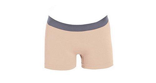 ACME - Court Ajusté Stretch Moulant Yoga Footing Cycliste Sport Shorts Pants - 9 couleurs Beige