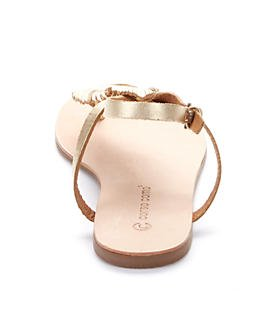 Como Corso, sandalo, modello Edgar, colore: platino Oro (platino)