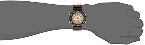 Timex-Expedition-Mens-T45181-Quartz-Watch-with-Beige-Dial-Analogue-Display-and-Brown-Nylon-Strap