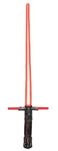 Star Wars Episode 7 Das Erwachen der Macht Kylo Ren Lichtschwert Rot aus (Für Poe Kinder Dameron Kostüm)