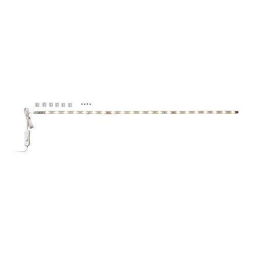 Ikea Ledberg - Asta luminosa LED, 75 cm, colore: bianco