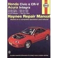 Honda Civic & CR-V, Acura Integra Automotive Repair Manual: Honda Civic, 1996-2000 / Honda CR-V, 1997-2001 / Acura Integra, 1994-2000 1st (first) Edition by Larry Warren, Alan Ahlstrand, John H. Haynes (2005) - 1998 Honda Acura