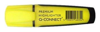 Q-Connect Rotulador Fluorescente Amarillo Premium