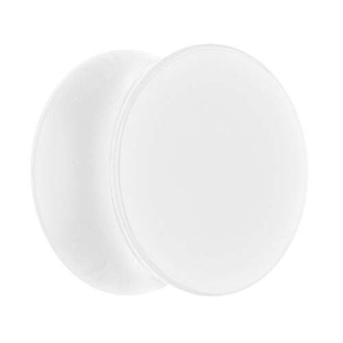Treuheld Classic Plug - Weiß 16 mm