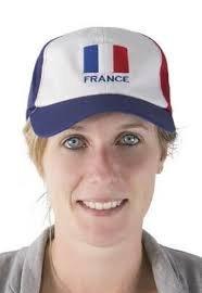 P 'tit payaso 10077-Gorra de Supporter adulto-Francia, talla única