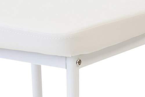 bianco Albatros 2915 SALERNO Set di 6 sedie da pranzo