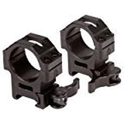 UTG - Colliers de Montage Lunette 30 mm Medium - Noir - Montage Arme - Aluminium - 30 mm