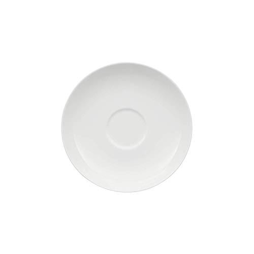 Villeroy & Boch Royal Untertasse, 15 cm, Premium Bone Porzellan, Weiß Eine Untertasse