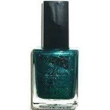 Mosaic Effects Top Coat Nail Enamel x 12ml - Gleaming Emerald