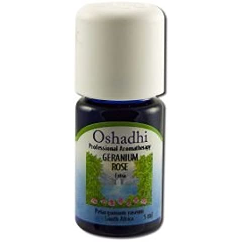 Oshadhi Geranium Rose Extra Org 5ml Essential Oil Singles by