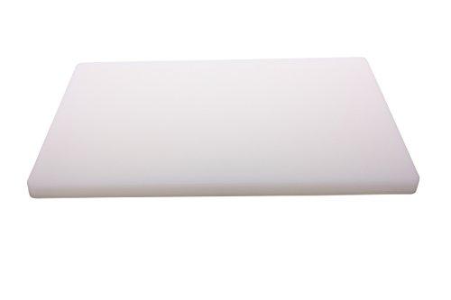 Schneidbrett weiß 60x40x3 cm extrastark