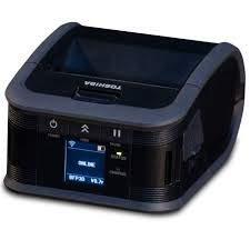 Toshiba B-FP3D Tragbarer Barcode- und Etikettendrucker, leicht (ohne Abziehen), USB/WLAN
