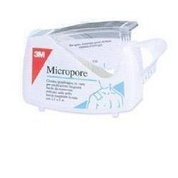 MICROPORE CER ROC 2.5X5M C/DISP