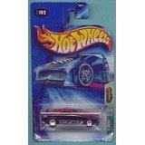 Hot Wheels 2004Chasse au trésor Noir et rouge GT-032/12# 102Édition limitée 1: 64Scale Collectible Die Cast Car par Hot Wheels...